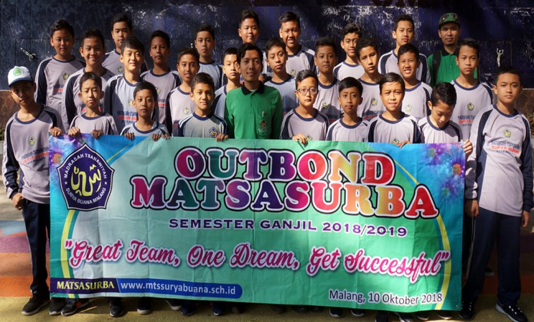 Outbond MATSASURBA: Great Team, One Dream, Get Successful